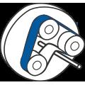 Planetarna brusilica za žicu ili cijevi