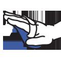 Nosač čičak diska s trakicom